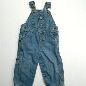 Oshkosh B'gosh 18 months Blue Carpenter Overalls
